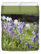 Scottish Bluebells Duvet Cover