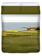 Scottish Golf Duvet Cover