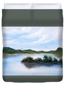 Scottish Highlands Duvet Cover
