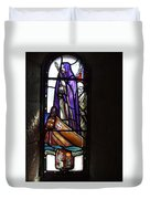 Scottish Stained Glass Window #2 Duvet Cover