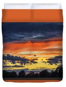 Scottish Sunset Duvet Cover