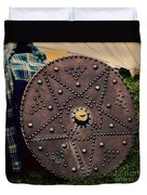 Scottish Targe Duvet Cover