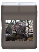 Scottish Wildcat Duvet Cover