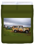 Scouts And Sky Duvet Cover