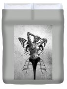 Scream Of A Butterfly II Duvet Cover