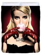 Scream Queen's - Chanel Oberlin Duvet Cover