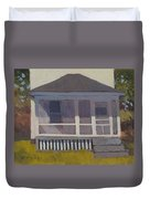 Screened Porch - Art By Bill Tomsa Duvet Cover