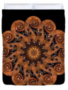 Scroll Flower Duvet Cover