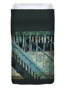 Scrolled Staircase By H H Photography Of Florida Duvet Cover