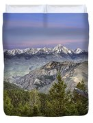 Scull Canyon Duvet Cover