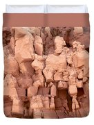 Sculpted Rocks Duvet Cover