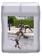 Sculpture By The Bay Duvet Cover