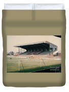 Scunthorpe United - Old Showground - East Stand 2 - 1970s Duvet Cover