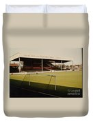 Scunthorpe United - Old Showground - Main Stand 2 - 1970s Duvet Cover