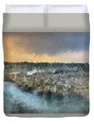 Sea And Stones Duvet Cover