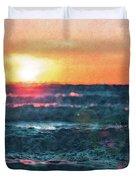 Sea And Sun Duvet Cover
