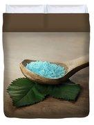 Sea Bath Salt Duvet Cover