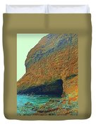 Sea Cave Duvet Cover