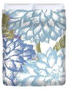 Sea Dahlias I Duvet Cover
