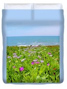 Sea Daisy Trail Duvet Cover