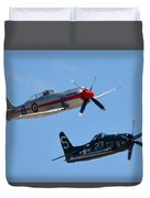 Sea Fury And Bearcat Duvet Cover