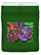 Sea Grape  Duvet Cover