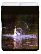 Sea Gull Abstract Duvet Cover