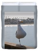 Sea Gull On One Foot  Duvet Cover