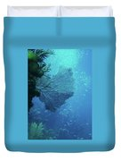 Sea Life- An Answer Of Peace Duvet Cover