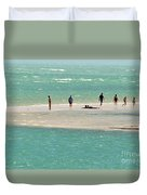 Sea Life Salt Life Key West Style  Duvet Cover