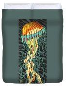 Sea Lightning Duvet Cover