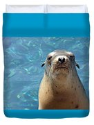 Sea Lion Or Seal Duvet Cover