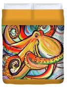 Sea Me Swirl Duvet Cover