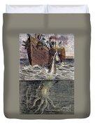 Sea Monster Duvet Cover