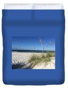 Sea Oats At The Beach Duvet Cover