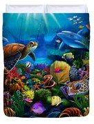 Sea Of Beauty Duvet Cover