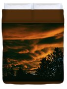 Sea Of Clouds Duvet Cover