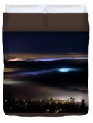 Sea Of Fog Duvet Cover