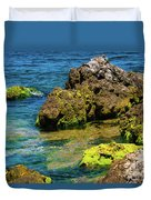 Sea Of Marmara Seashore Duvet Cover