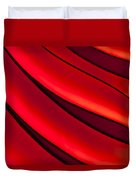 Sea Of Red Duvet Cover