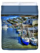 Sea Ray Of Savannah  Duvet Cover