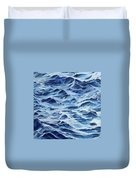 Sea Rhythms Duvet Cover