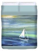 Sea Row Duvet Cover