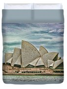 Sea Shell Opera Duvet Cover