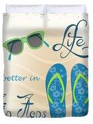Sea Side-jp2732 Duvet Cover