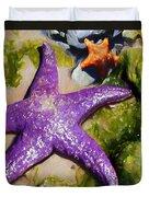 Sea Stars Duvet Cover