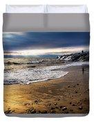 Sea Stones Duvet Cover