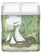 Sea Story Duvet Cover