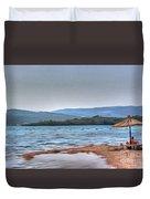 Sea Sun Beach Duvet Cover