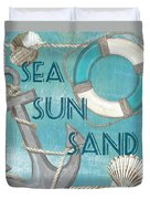 Sea Sun Sand Duvet Cover